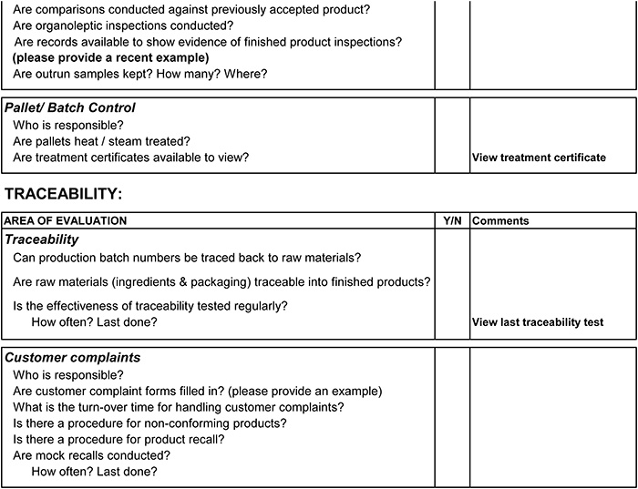 supplier audit plan template - security audit vendor security audit checklist