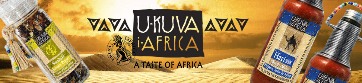 Ukuva iAfrica logo and composite of products.