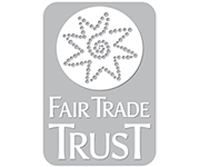 Logo of the Fair Trade Trust on Turqle Trading's web page footer